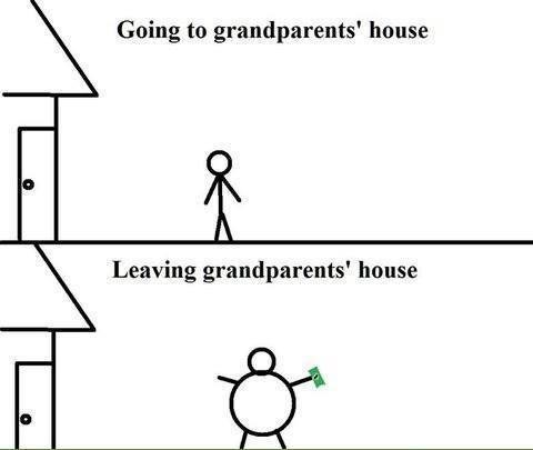 Going to Your Grandparents is a Fantastic Outing