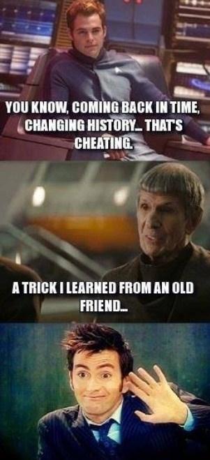 Spock's All Timey-Wimey