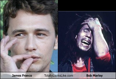 James Franco Totally Looks Like Bob Marley
