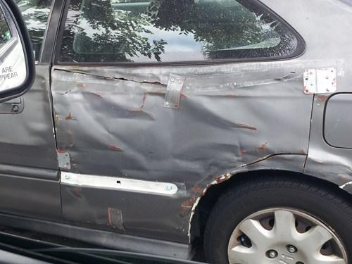 The Crinkliest Honda on the Block