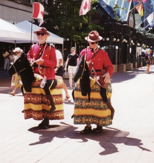And Canada Wonders Why No One Take the Mounties Seriously...
