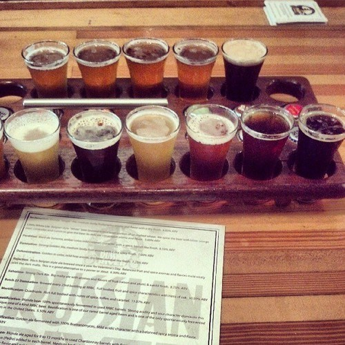 One Sexy Beer Flight