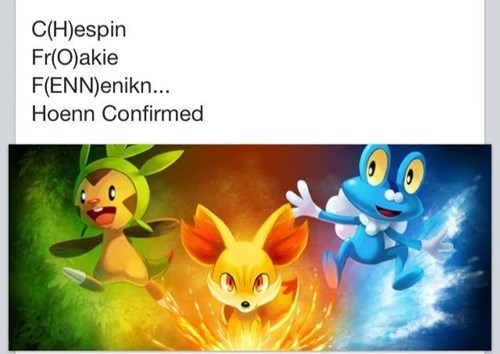 Wait a Minute! HOENN CONFIRMED