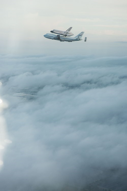 The Shuttle Goes for a Ride