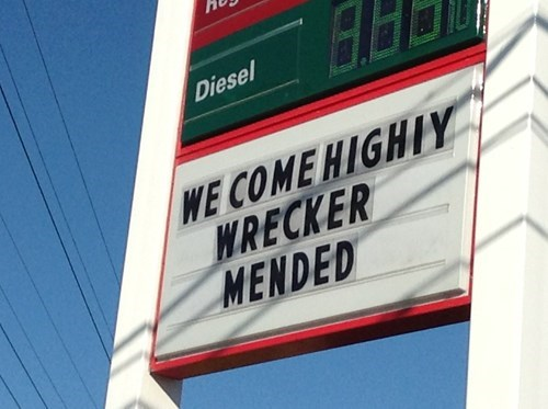 signs,puns,gas stations,funny