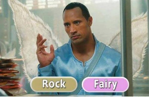 fairy types,pokemon types,the rock,rock types