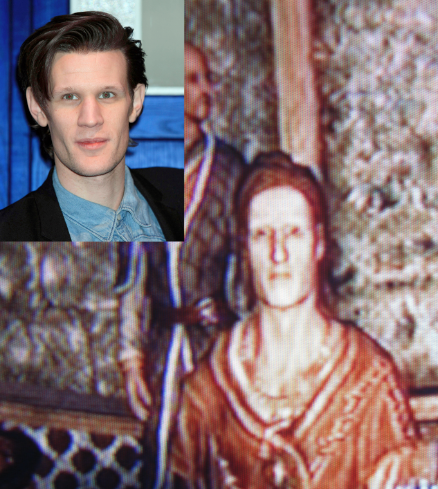 Matt Smith becomes Dovahkiin