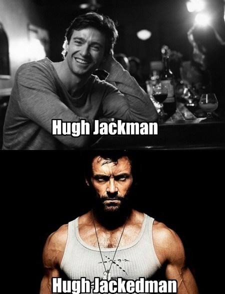 hugh jackman,wolverine,funny