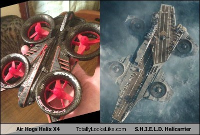 Air Hogs Helix X4 Totally Looks Like S.H.I.E.L.D. Helicarrier