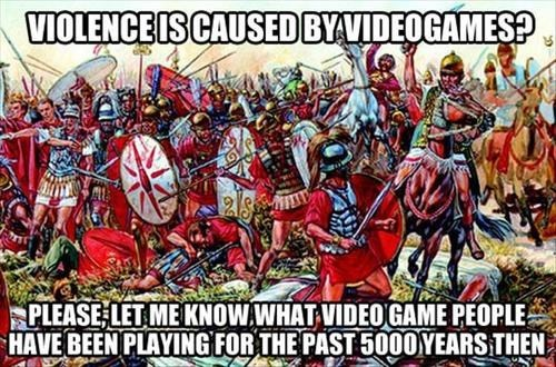 Stop Blaming Video Games for Violence