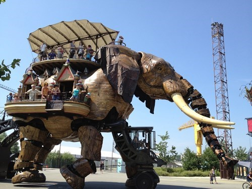 If You're in Nantes, France, Say Hi to the Mechanical Elephant for Us