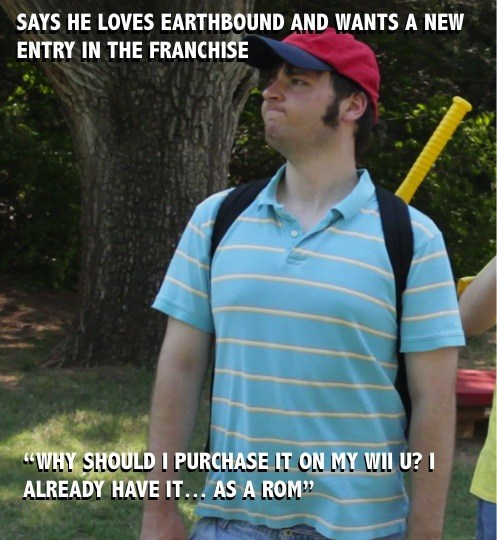 Scumbag Earthbound Fan