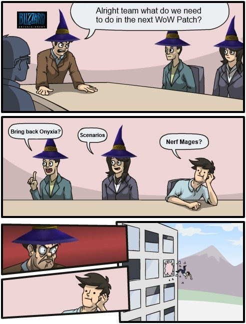 Meanwhile at Blizzard Inc...
