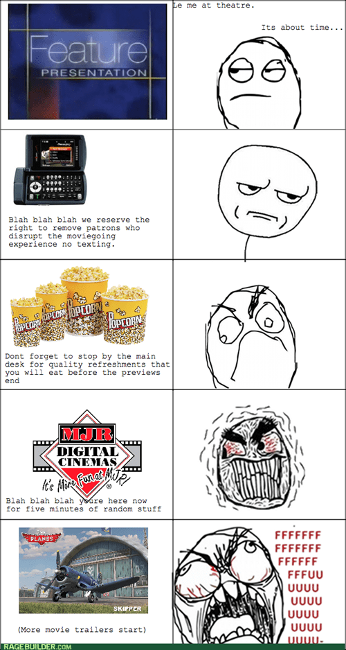 Going to the Movies Sucks These Days