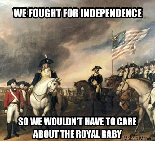 royal baby,american revolution,historic lol