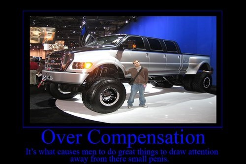 wtf,over compensation,truck