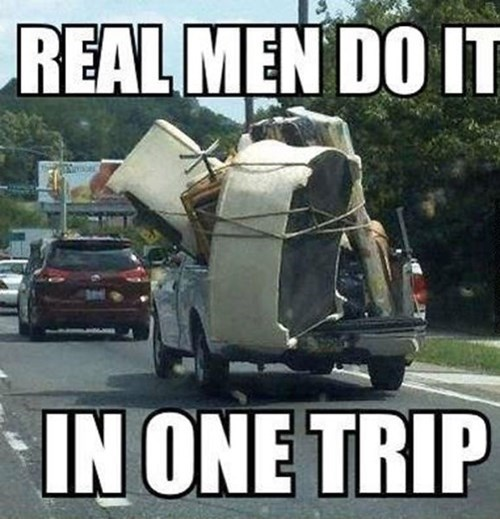Smart Men Rent a U-Haul