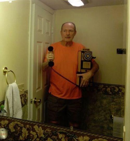 How Me a Guy Do Selfie?