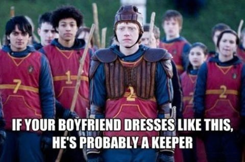 If Loving a Keeper is Ron, I don't Want to be Right