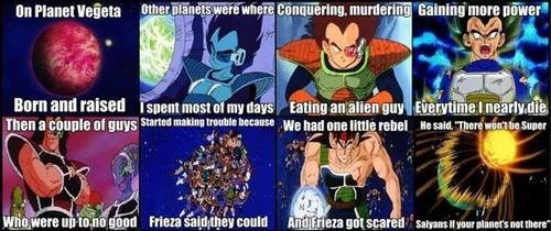 Fresh Prince of Planet Vegeta