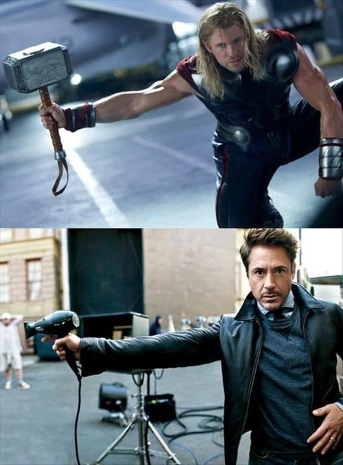 RDJ's Weapon of Choice: Good Hair