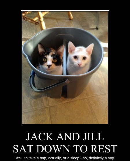 JACK AND JILL SAT DOWN TO REST