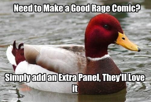 Memes,extra tag,malicious advice mallard