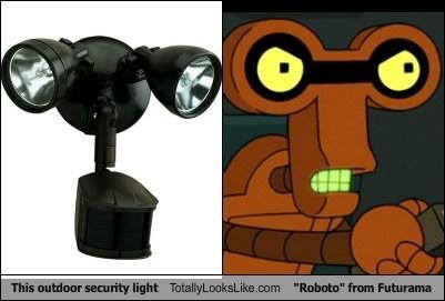 roboto,lights,totally looks like,robots,futurama,funny