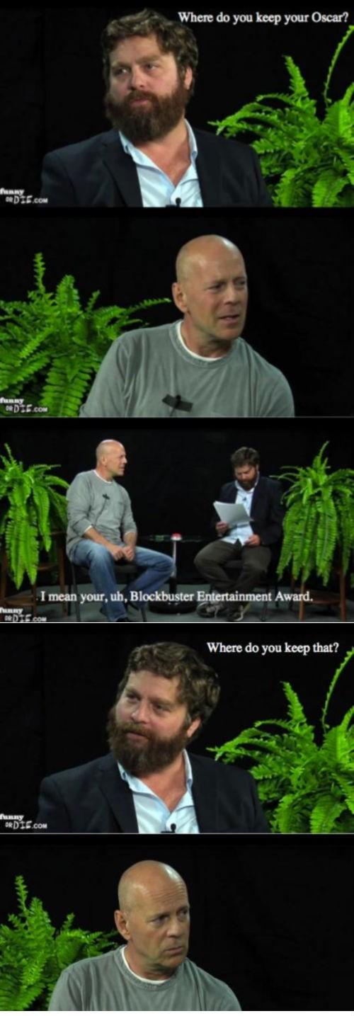 Bruce Willis' Abundant Awards