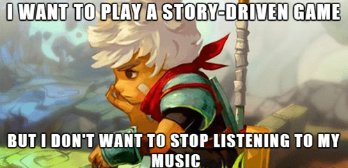 The Soundtrack is Half the Experience