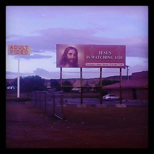 Way to Be a Creep, Jesus