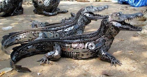 wtf,art,crocodiles,amazing,funny