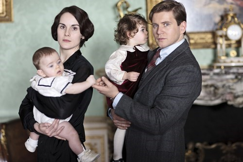 First Look at Downton Abbey Season 4