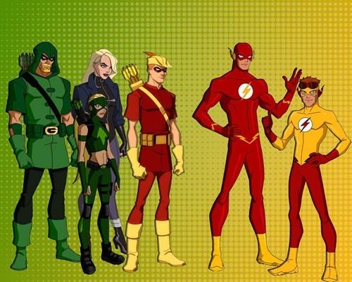 arrow,TV,cw,flash