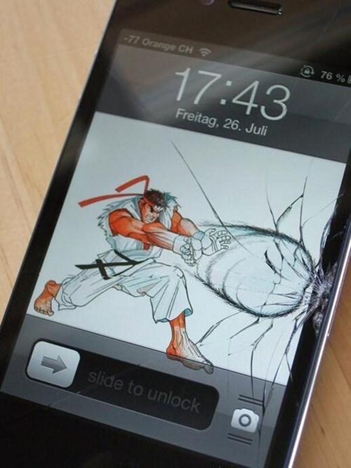 hadouken,Street fighter,video games,iphone