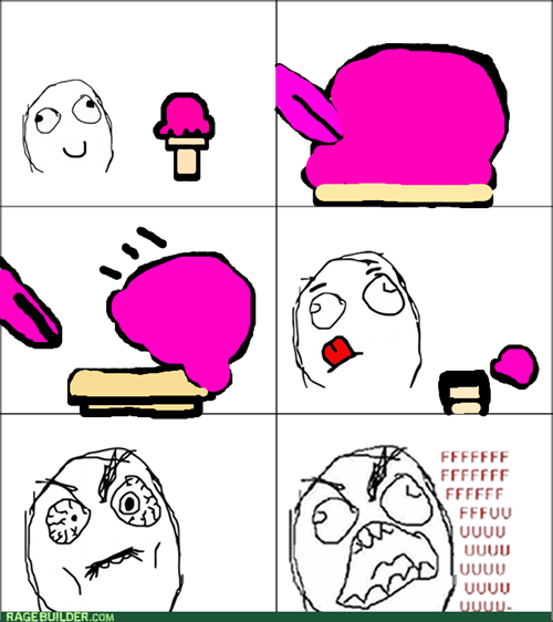 ice cream rage