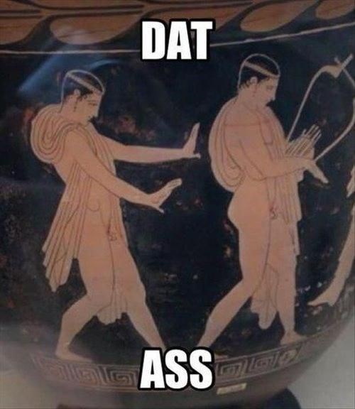 We've Been Checking that Booty Since Pre-History