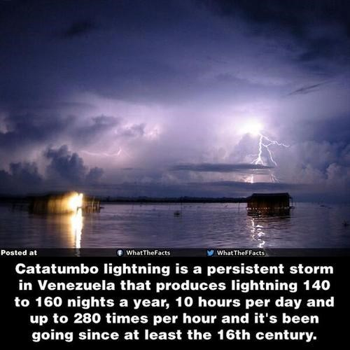 Catatumbo Lightning Is Very Strange