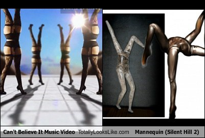 Can't Believe It's Music Video Totally Looks Like Mannequin (Silent Hill 2)