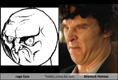 rage face Totally Looks Like Sherlock Holmes
