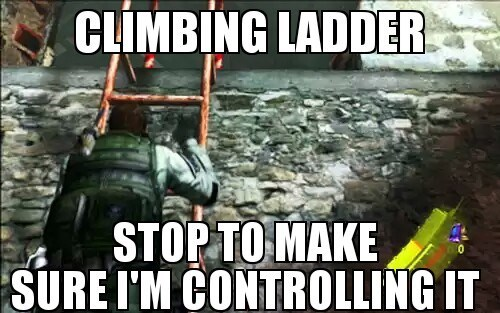ladders,gamers,controls