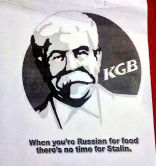 In Soviet Russia, Chicken Fries You