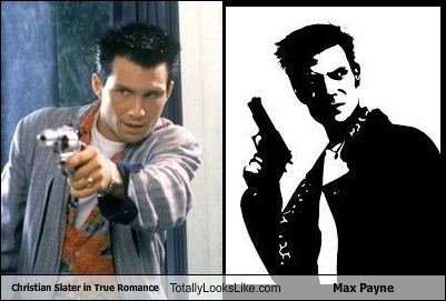 Christian Slater in True Romance Totally Looks Like Max Payne