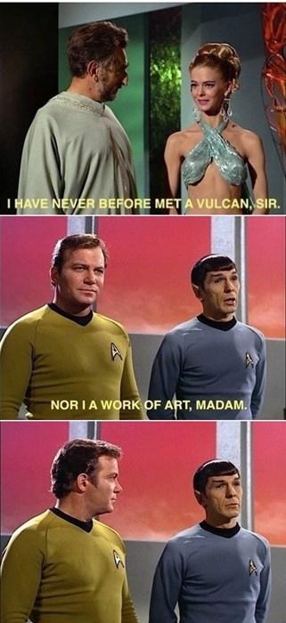 Spock,kirk,Leonard Nimoy,Star Trek,William Shatner