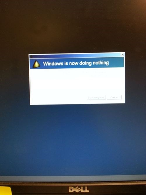 windows is now doing nothing,windows,monday thru friday,g rated