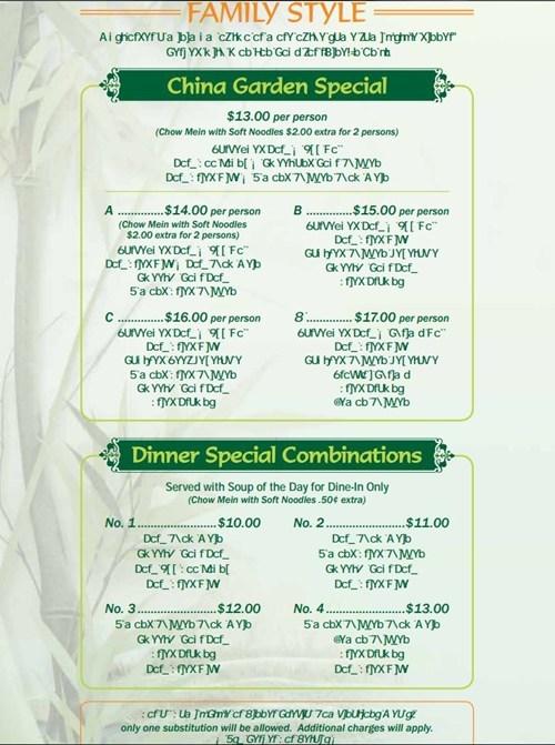 menu,chinese restaurant,chinese food