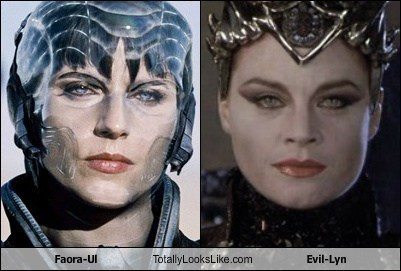 Faora-Ul totally looks like Evil-Lyn