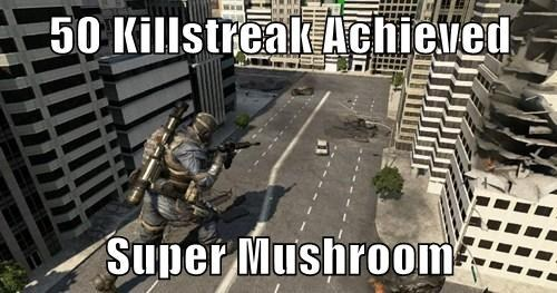 If CoD Had a Super Mushroom