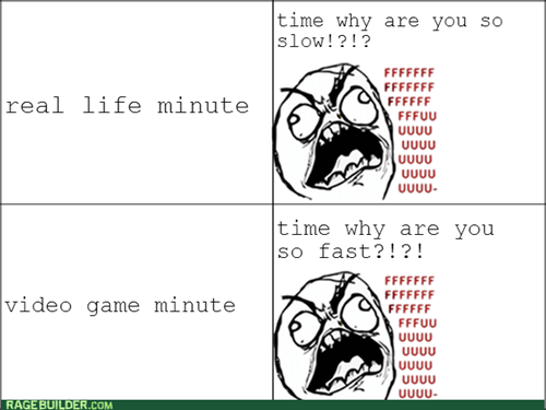 time,video games