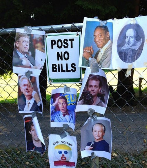 Gates, Cosby, Shakespeare, Clinton, Nye, Murray, Hader, Mr., Maher